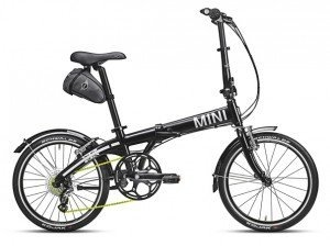MINI Folding Bike Black